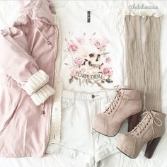 Casual Outfits For Teen Cute Dresses For Casual Look Cute Asian Fashion, Look Fashion, Teen Fashion, Korean Fashion, Fashion Outfits, Fashion Pics, Daily Fashion, Fashion Ideas, Fashion Shorts