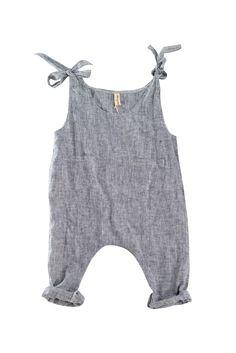 YOli & Otis runaway jumpsuit. Hemp/Cotton. Herbally dyed.