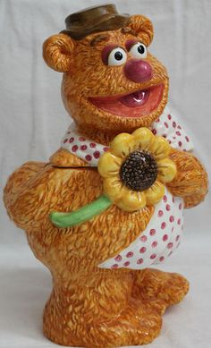 Fozzie Bear Cookie Jar made by Treasure Craft