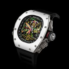 Richard Mille RM 50-02 ACJ Tourbillon - power reserve: 70hrs