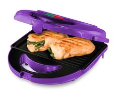 Amazon.com: Big Boss 8870 7-Piece Grill Set with 3 Sets of Non-Stick Cooking Plates, Purple: Appliances