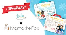 Lulu Jr's Create Your Own Book/Comic Giveaway – Ends 12-13
