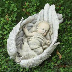 Sleeping Baby in Heavenly Wings