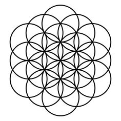 Flower of Life 19-circles.svg