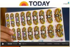 Featured on the today show.Get yours today also. Come visit me and use the Nail Art studio!  http://phalanges.jamberrynails.net/
