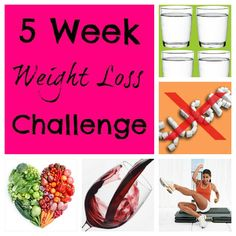 Weight Loss Motivation: The 5 Week Weight Loss Challenge - Just Us Four