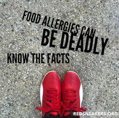 Day 15 of Food Allergy Awareness Month.  Food allergies can be deadly. Know the facts: 15 million people in the U.S. have food allergies. The rate of people with food allergies is doubling every ten years. Approximately $25 million is spent in reactive food allergy care each year.  This and more graphics can be found on our website at https://www.redsneakers.org/awareness. Please share and care.