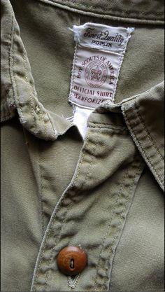 Official BSA Sanforized Poplin Shirt. Found
