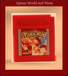 Pokemon Rot für Gameboy