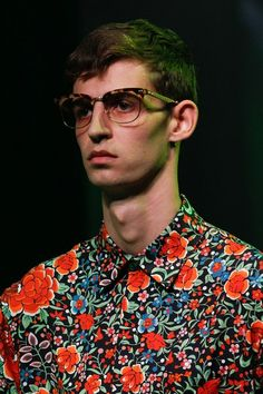 Gucci Spring 2017 floral shirt