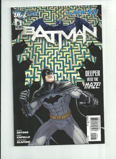 BATMAN #5 Awesome 1/20 VARIANT by Chris Burnham! ~NM~  http://r.ebay.com/Ucr0f5