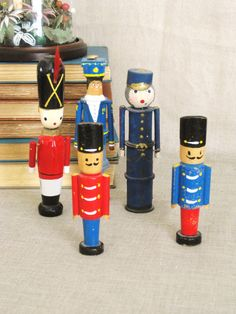 30 percent Off Sale  Vintage Collection Pin Dolls  by wilshepherd, $24.00