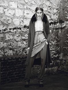 Fall Fashion: New York Designers Claim Their Turf  - Carolina Herrera coat, jacket, dress, and pants