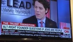 CNN FAKES THE NEWS: Network runs news banner implying Jews are not real people to stir up HATE, then apologizes