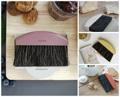 KEEP YOUR TABLE TIDY: Crumb brush set 'Andrée Jardin' by Mr & Mrs Clynk.