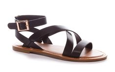 919cbbdaa Bamboo Women s Strappy Gladiator Ankle Wrap Flat Sandal    Want additional  info  Click on