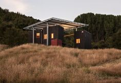 Longbush Ecosanctuary Welcome Shelter | Sarosh Mulla Design | photos © Simon Devitt