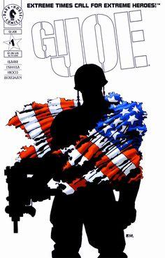 Joe Dark Horse Comics cover by Frank Miller Dark Horse Comics, Dark Comics, Fun Comics, Manga Comics, Comic Book Artists, Comic Book Characters, Comic Books Art, Comic Art, Gi Joe 1