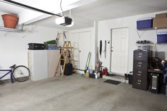 The garage is often the last place in a home that gets organized. But with the right plan and some motivation, you can organize and clean your garage in no time. Garage Attenant, Clean Garage, Garage Door Repair, Garage Doors, Garage Ideas, Basement Ideas, Garage Organization, Garage Storage, Garage Air Conditioner