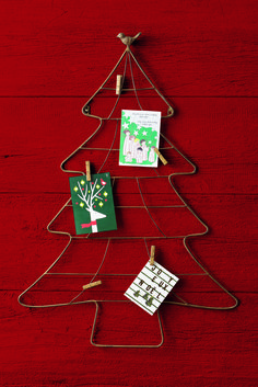 Display your holiday cards and messages with this Martha Stewart Living Christmas Tree Card Holder from Home Decorators Collection!