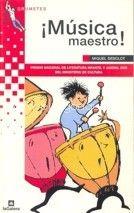portada del Libro: ¡Música, maestro!