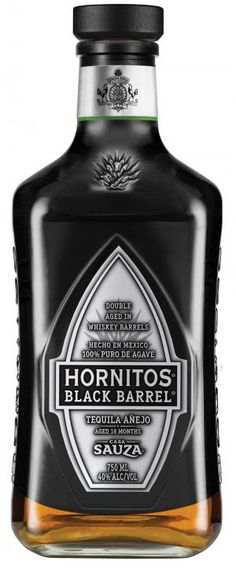 SAUZA - HORNITOS ANEJO BLACK BARREL