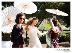 fun and whimsical for an outdoor winery wedding!