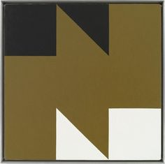"""Frederick Hammersley, Ebb Tied (1978)  12 1/2"""" squares would make this crib sized"""