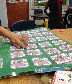 File folder games for young children and special education. Letters and number matching with spring/summer theme. $3