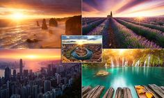 HERE COMES THE SUN: Photographer spends three years capturing sunrises across the globe