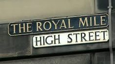 Travel With MWT The Wolf: World Famous Streets High Street Edimburgh Scotlan...