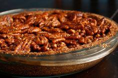 Vegan Maple Pecan Pie