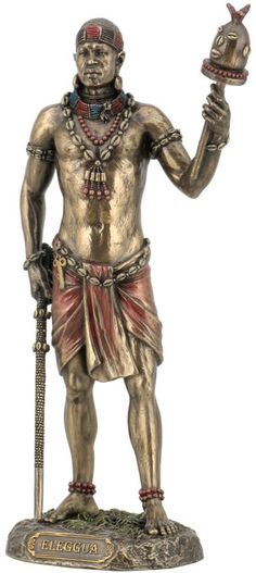 Ellugua Statue- God Of Travelers, Crossroads And Fortune