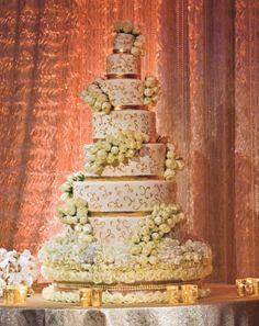 Wedding Cakes: Gold Standard | InsideWeddings.com