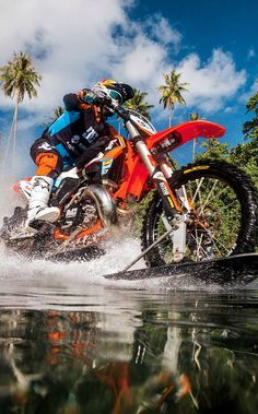 How Robbie Maddison rode on water.
