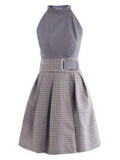 Kenzo Pointillist jacquard dress
