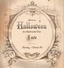 Image Result For Halloween Save The Date