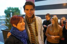 Mika with fans at Life4You in Holland Sept 2012