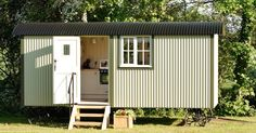 They Built A Stunning Traditional Shepherd's Hut With A Flawless Interior via LittleThings.com