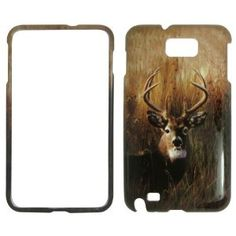 Adorn your Samsung Galaxy Note i9220 with deer on grass camo camouflage hunting hard #cell #phone #cases and protector covers.