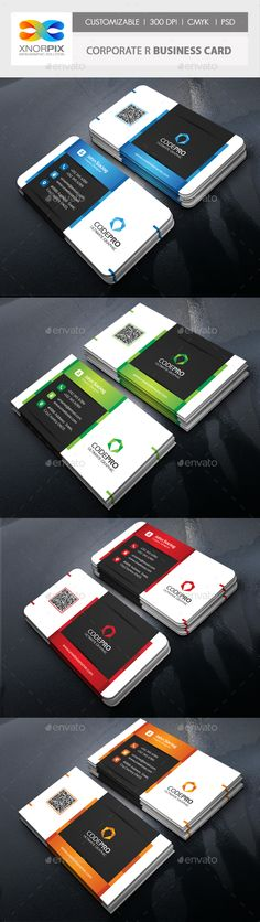Corporate Business Card Template PSD. Download here: https://graphicriver.net/item/corporate-business-card/17029782?ref=ksioks