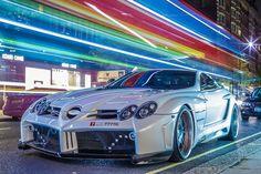 "automotivated: ""Fab Design Mercedes SLR McLaren (by TS Multimedia) """
