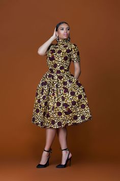 african print dresses African Print Women Midi Dress Source by kgothatsomenyat African Fashion Designers, African Inspired Fashion, African Print Fashion, Africa Fashion, African Prints, African Fabric, African Wear Dresses, African Attire, African Outfits