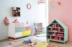 Decoration child montessori colorful