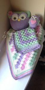 #freecrochetpattern #free #crochet #pattern #owl #stuffedanimal #baby