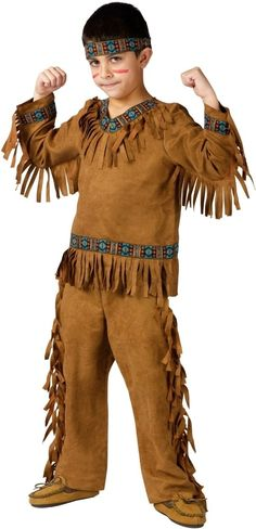 indian costumes kids | Kids Native American Boy Indian Costume - Boys Costumes