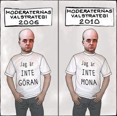 ironisk: Moderaterna 2010