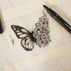 Our Website is the greatest collection of tattoos designs and artists. Search for more Butterfly Tattoo designs. Side Tattoos, Tribal Tattoos, New Tattoos, Body Art Tattoos, Small Tattoos, Cool Tattoos, Side Leg Tattoo, Classy Tattoos, Celtic Tattoos