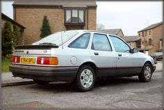 1987 Ford Sierra GLS, I had one identical to this, lovely car Ford Sierra, Ford Rs, Car Ford, Retro Cars, Vintage Cars, Ford Motorsport, Mid Size Car, Classy Cars, Ford Classic Cars