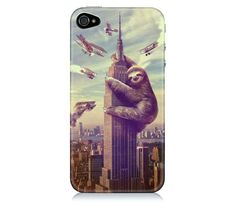 iPhone 5 Animal Cases on Uncovet... oh my... sloth love... can't hardly stand it!